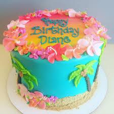hawaiian birthday cake cakes u0026 cupcakes pinterest hawaiian
