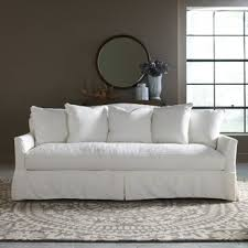 living room white couch white sofas you ll love wayfair