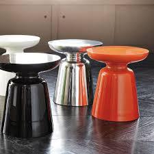 Orange Side Table Martini Side Table