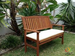 bondi outdoor timber bench 2 seat bench outdoor garden bench