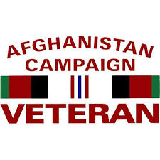 afghanistan ribbon afghanistan caign veteran with ribbon clear decal acu army