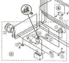 mercruiser 5 7 starter wiring diagram mercruiser wiring diagrams
