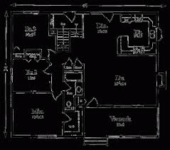 apartments 3 bedroom 1 bath floor plans cottage style house plan