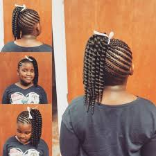 crochet braid ponytail 60 lovely hairstyles with braids for kids all braiding styles