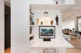 coin bureau dans salon 12 idées pour aménager un bureau dans salon femme actuelle