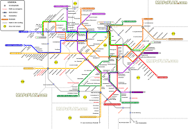 Manhatten Subway Map by Amsterdam Subway Map Pdf My Blog