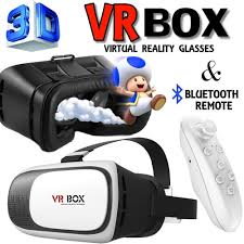 google cardboard vr box v2 0 virtual reality 3d glasses control