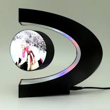 wedding gift ornaments maglev c shaped electronic frame and friends