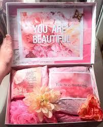 Thinking Of You Gift Baskets Girly Custom I Love You Box Aimed To Inspire Thinking Of You Gift