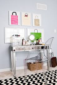 Mirrored Desk Vanity The Perfect Makeup Vanity Design Lamps Plus
