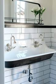 bathroom sink double faucet trough bathroom sink small sinks for
