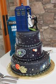 tardis wedding cake topper unique wedding cakes that make getting married seem anything but