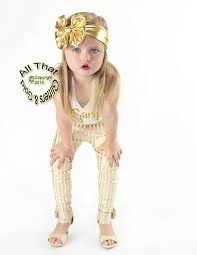 gold headbands big bow headbands baby and black and white