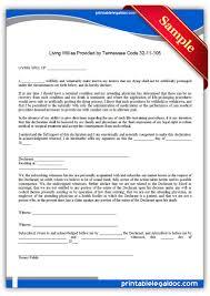 free printable life sustaining statute tennessee form generic