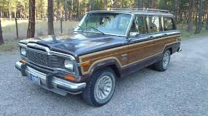 1989 jeep wagoneer limited 1982 jeep wagoneer limited review youtube