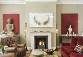 stylish design living room statues fancy feng shui living room