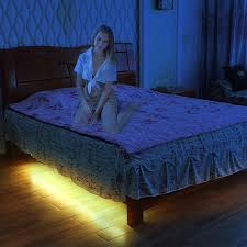 motion activated led light strip motion activated under bed night light dual led strips dual motion