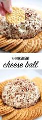 thanksgiving cheese ball recipe easy classic cheese ball recipe made with 4 ingredients i heart