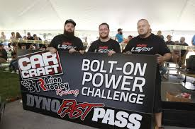 btr car craft bolt on power challenge results holley lsfest