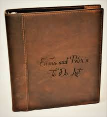 engraved photo albums 19 best custom engraved premium leather journals diaries photo
