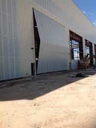 Bi Fold Doors Exterior by Industrial Doors U0026 Bi Fold Doors Wilson Industrial Doors