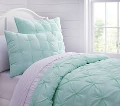 Pottery Barn Kids Twin Quilt Audrey Quilted Bedding Aqua Pottery Barn Kids