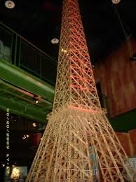 toothpick eiffel tower picture of ripley s believe it or not