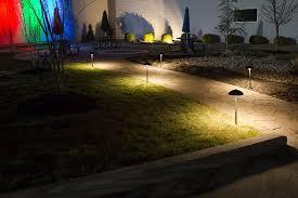 Led Pathway Landscape Lighting Landscape Led Path Lights W Shade 3 Watt Adjustable
