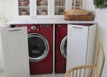 laundry in kitchen ideas 15 laundry spaces that cleverly conceal their unsightly appliances