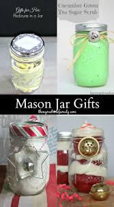 mason jar gifts gift mason jar crafts and craft