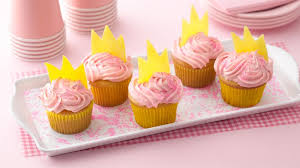 princess crown cupcakes recipe bettycrocker com