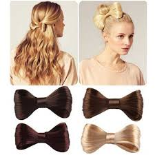 vlasove doplnky v v veľká elegantná spona do vlasov s vlasovú mašľou