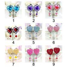 kids clip on earrings clip on earrings ebay