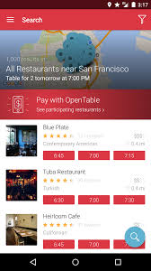 opentable restaurants near me android reviews at android