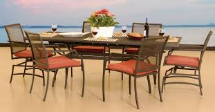 Outdoor Dining Room Sets Wrought Iron Oval Patio Dining Table Amazing Set Dining Room
