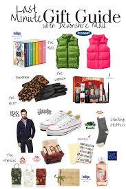 featured last minute gift guide with devonshire mall