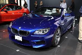 bmw m6 blue nyias 2012 2013 bmw m6 cabrio makes an appearance