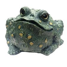 toad hollow 12 in jumbo toad collectible garden frog statue 99816