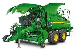 john deere updates large square baler range hrn tractors