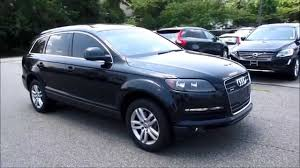 audi suv 2009 2009 audi q7 3 6 premium quattro walkaround start up tour and