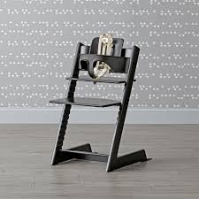High Chair Table And Chair Black Tripp Trapp High Chair And Baby Set From Stokke The