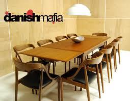 mid century danish modern arne vodder teak dining table danish mafia