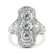art deco dog ring holder images Art deco engagement rings gerard leon jpg