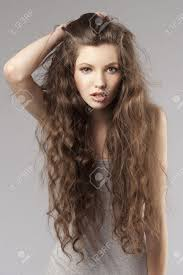cute hairstyles for long curly brown hair 35267087 cute curly