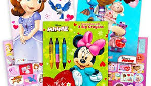 Minnie Mouse Easter Stickers Disney Easter Coloring Books Set With Stickers 3 Books