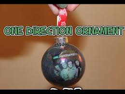 one direction ornament diy