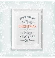 we wish you a merry and happy new year vector image