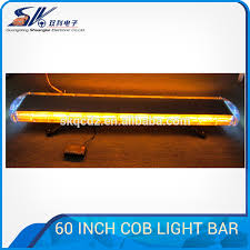 led security light bar 60inch cob led security lightbar emergency warning light bar buy