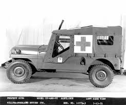 military jeep side view jeep heritage 1951 jeep willys ambulances the jeep blog