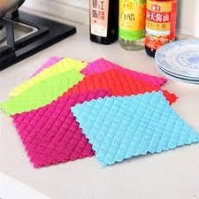 suce dans la cuisine matelassé carré accueil cuisine sucer épais microfibre tissu plat